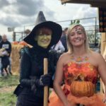 Witch and Pumpkin Princess at Farmer Copleys